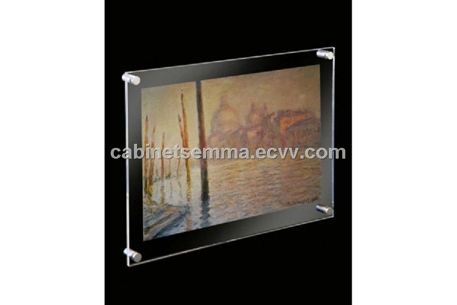 Wall Mounting Acrylic Magnetic Frame Poster Frame