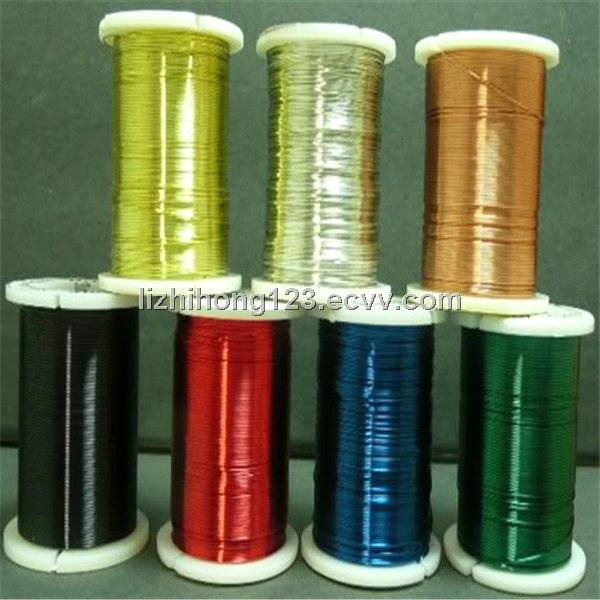 silver plated copper wire /light color copper craft wire purchasing ...