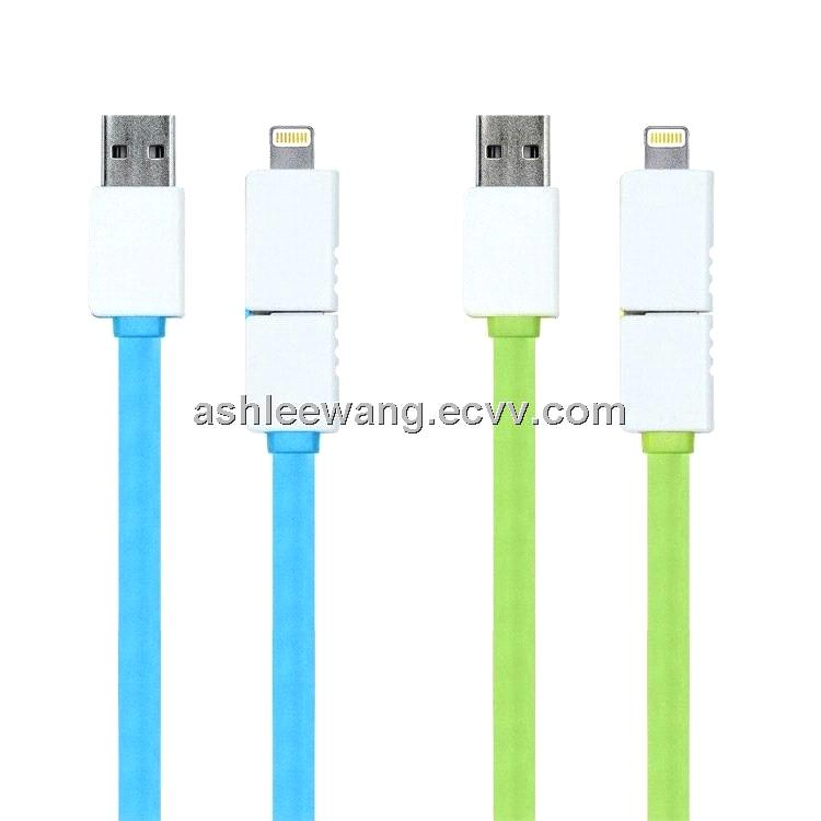 Flat Lightning cable with MFI