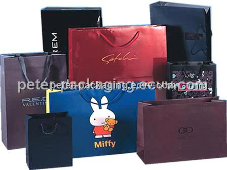 HIgh quality new design hot art paper gift bag