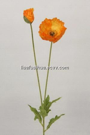 High Quality Silk Poppy Flowers, Silk Flowers Wholesale