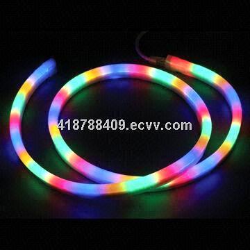 LED 360 degrees round neon flex-RGB-24V