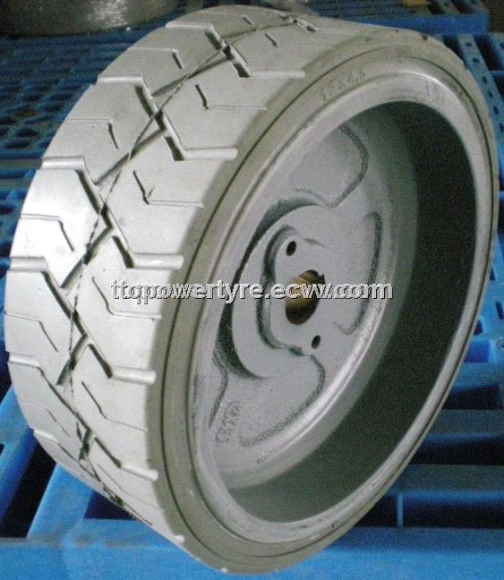 Solid Tyre with Rim 16*5