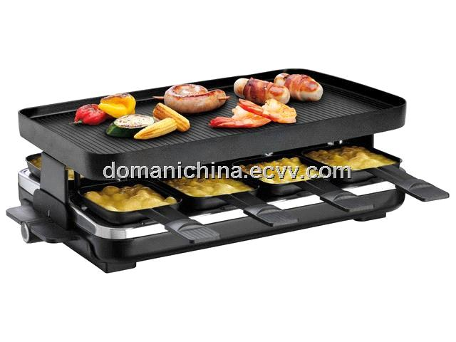 swiss raclette grill for eight purchasing souring agent purchasing service platform. Black Bedroom Furniture Sets. Home Design Ideas