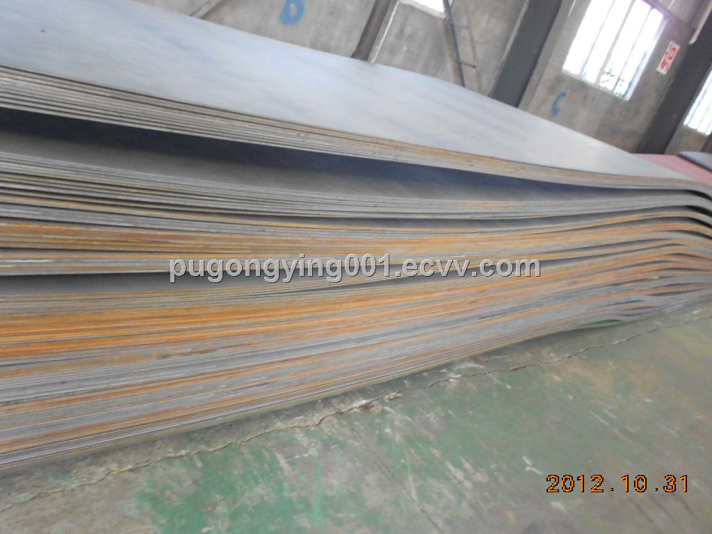 Atmospheric corrosion resisting steel plate 15MnCuCr-QT