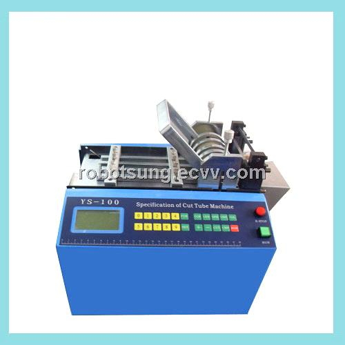 Automatic PVC tube cutting machine