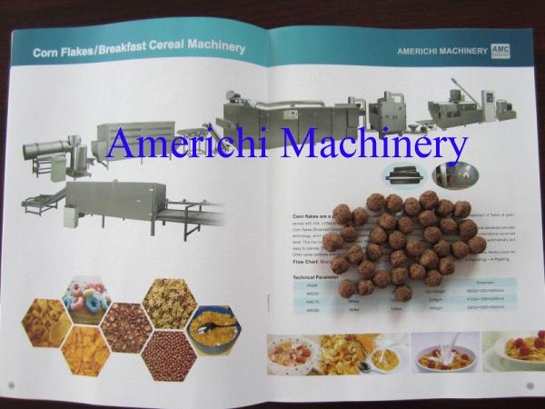 Breadfast cereal snack food making machine
