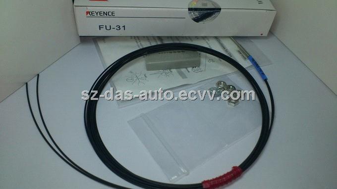 Keyence Plastic Fiber Optic Sensor  FU-18M NEW