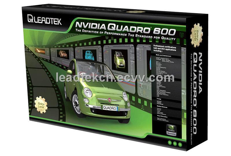 Leadtek NVIDIA Quadro 600 Workstation Graphics Video Card