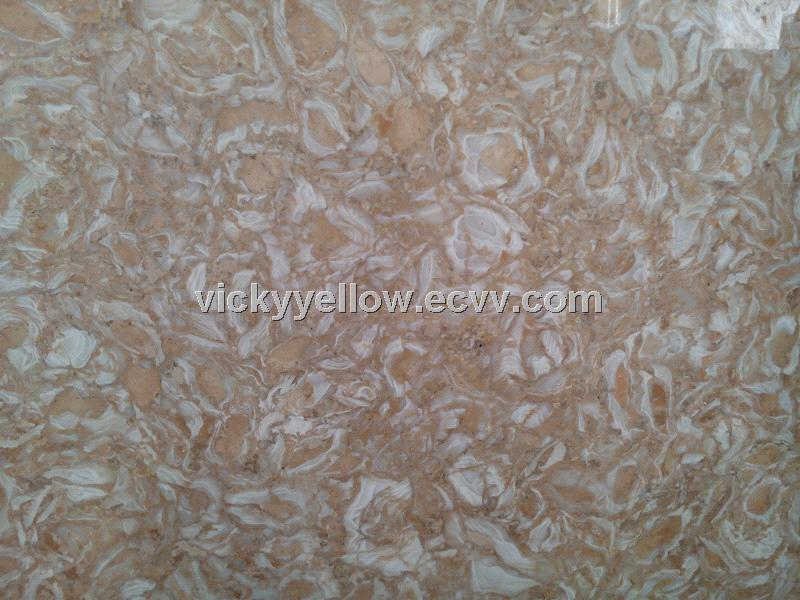 Lebanon Golden Shell Onyx Marble from China Manufacturer