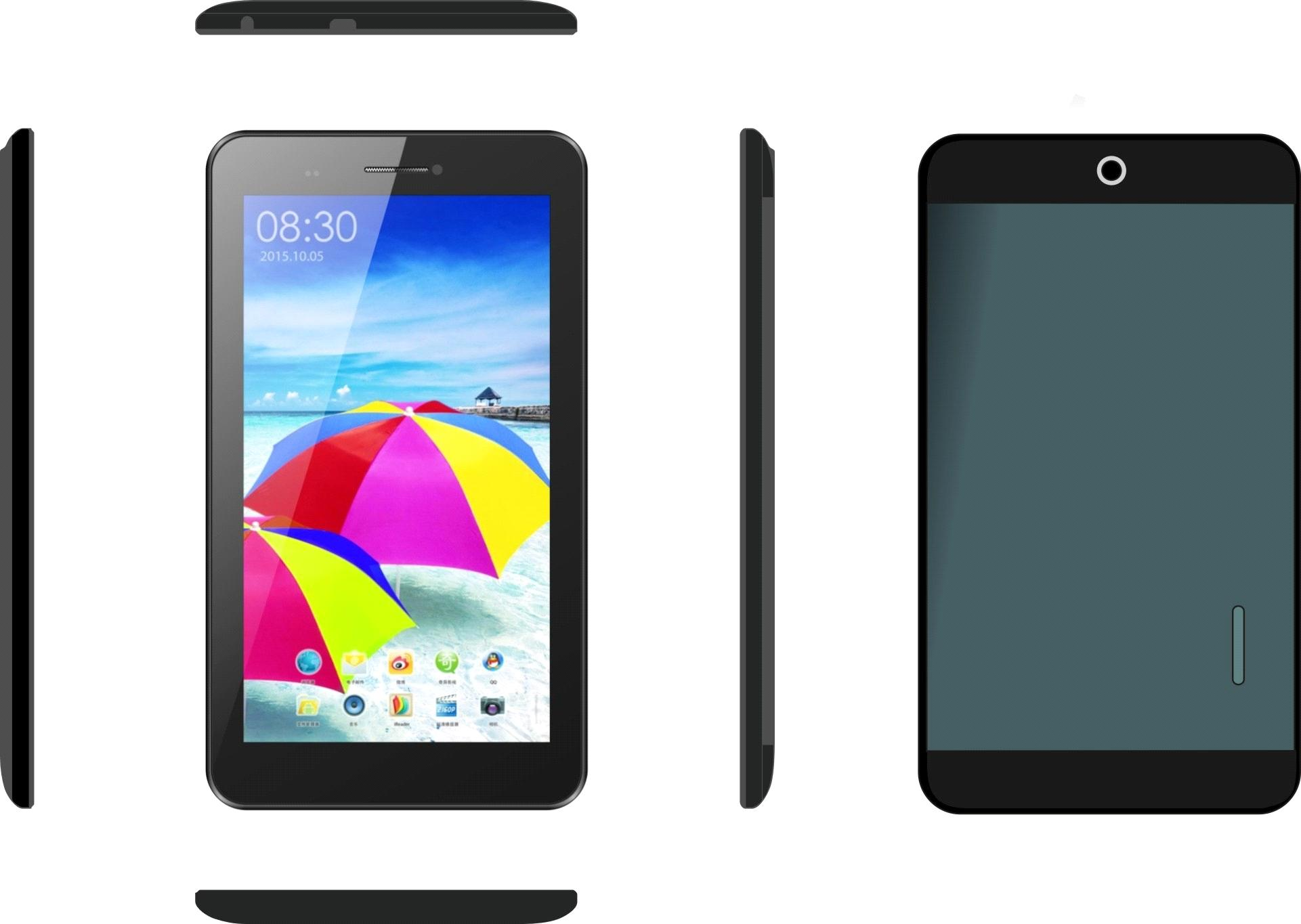 MTK6572 3G Phone Call Dual Core PC Tablet P7072-A