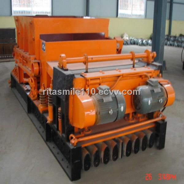 Prestress concrete hollow core slab equipment
