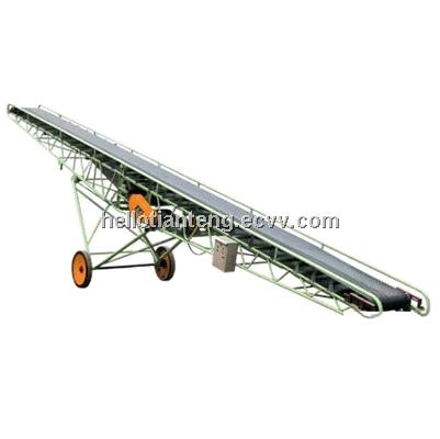 flexible mobile Belt Conveyor with ISO and CE certificates inclined belt conveyor
