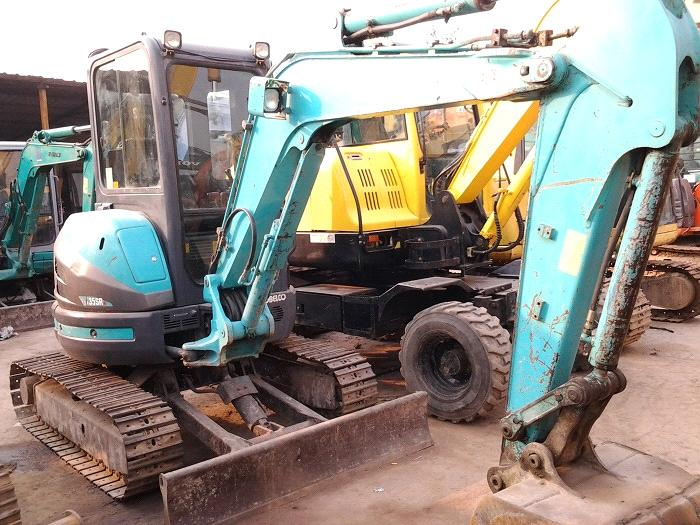 Used Small Excavator Kobelco SK35SR-3