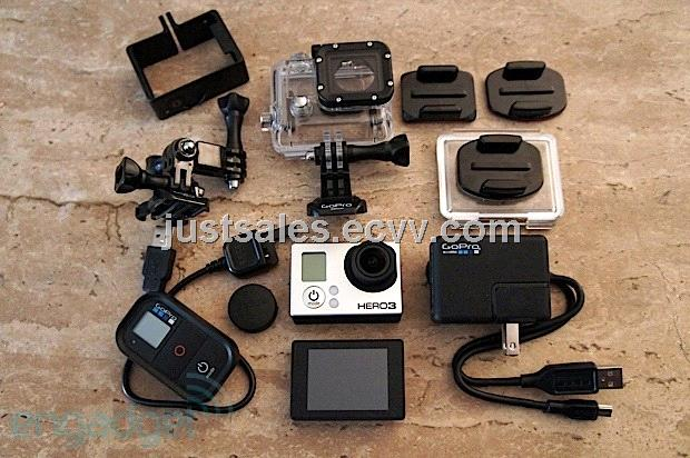 GoPro HD Black Edition Video Camera Camcorder