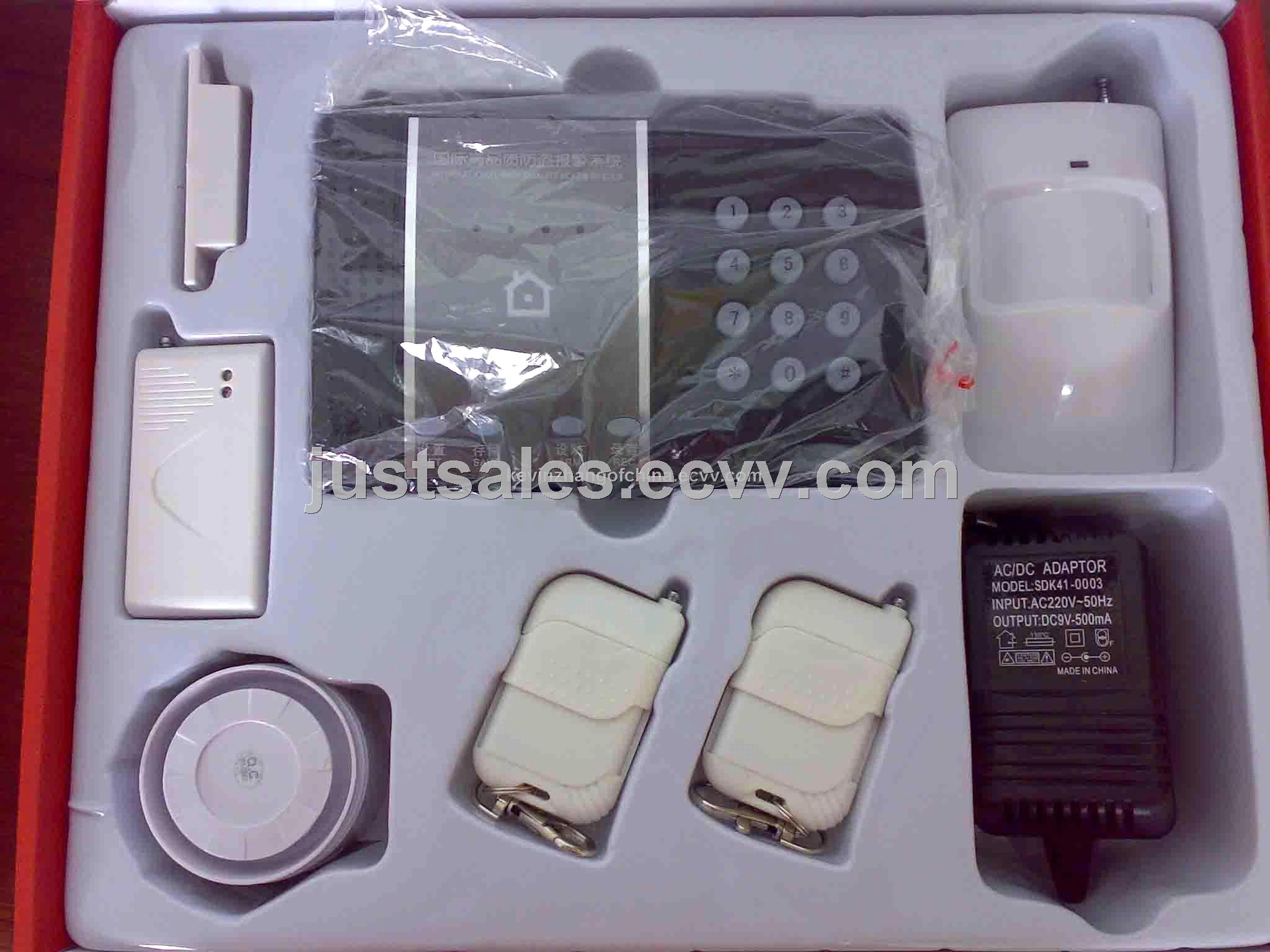 Home Security GSM SMS Wireless Alarm System - GM02