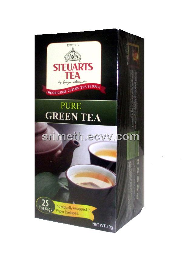 Steuarts Pure Green Tea 25 Tea Bags