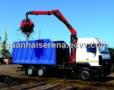 Knuckle Boom Truck Mounted Crane from China Manufacturer