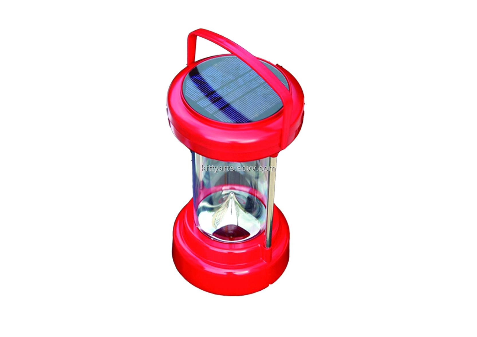 1600mah/ 4h Solar LED Lantern with AC Plug