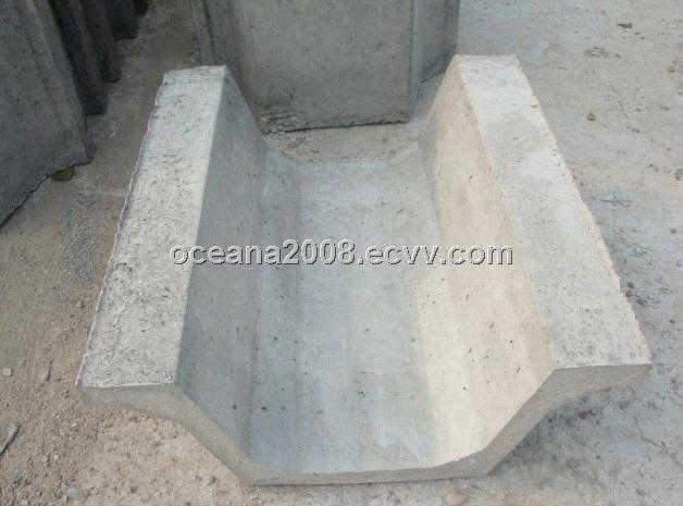 Concrete U Shaped Channel Machine For Water Drainage And