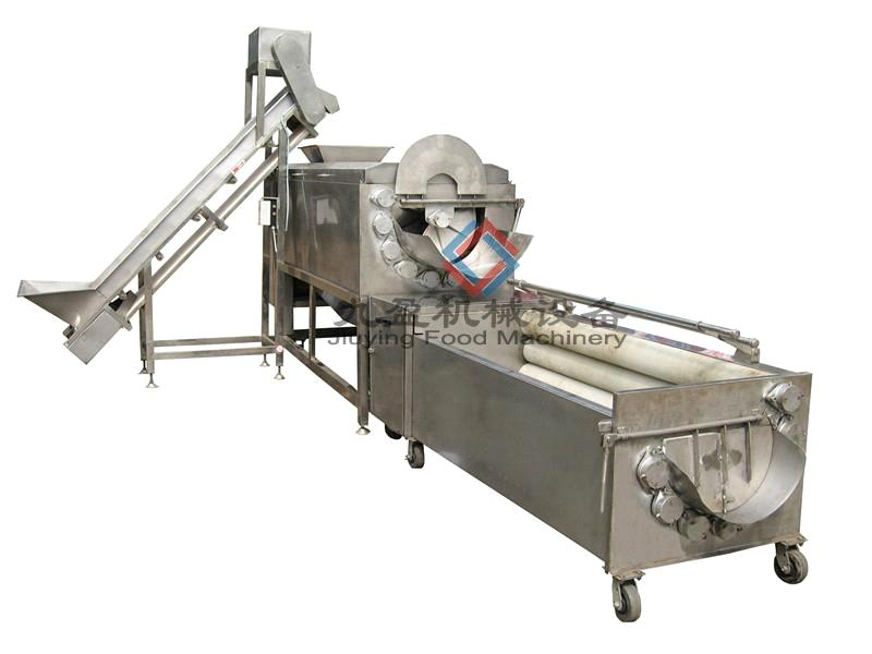 potato washer@peeler &polishing production line