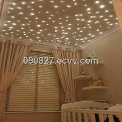 Optical Fiber Star Nursery Ceiling Lights Of A Diffe Kind For The Babys Room