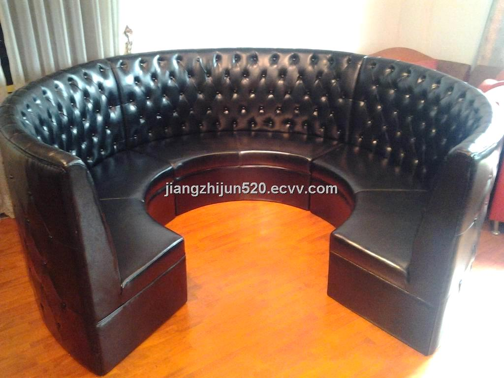 Circular Restaurant Booth From China Manufacturer