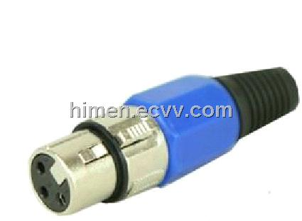 3 PIN XLR Connector For Stage Light, LED Stage Lighting