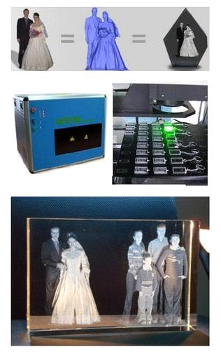 3d crystal laser machine
