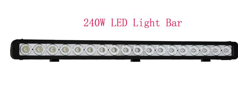 4x4 42.2 '' Offroad LED Light Bar Cree 240W for Truck