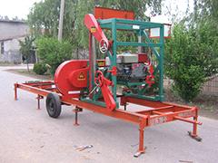 MJ1000 portable sawmill(Diesel engine)