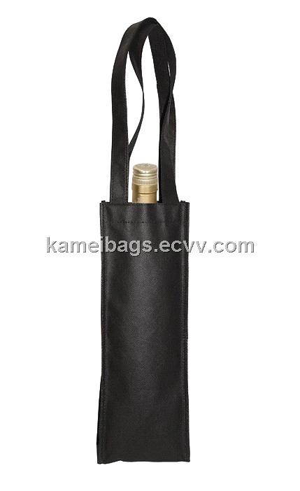 Non-Woven Wine Bag(Km-Wnb0054), Non-Woven Bag, Gift Bags, Promotion Packing Bag, Handle Bag