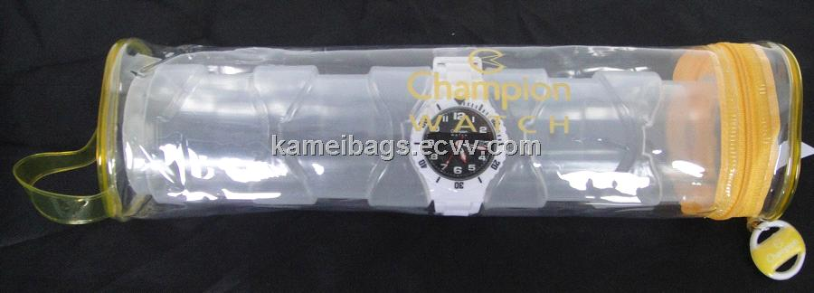 PVC Watch Bag (KM-PVB0011), PVC Bag,Pvc Packing Bag, Plastic Bag, Gift Bag, Promotion Bag