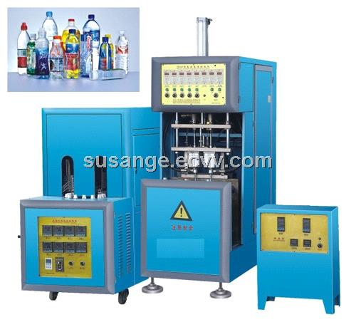 Semi-Auto Matic Blow Moulding Machine for Hot Filling Bottles