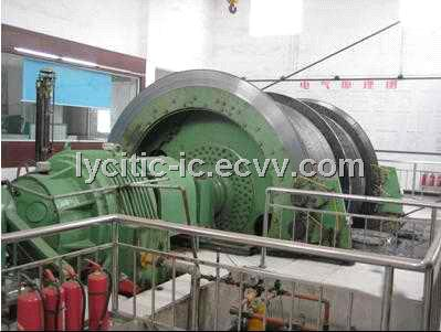 Single-Rope Winding Type Mine Hoisting Machine