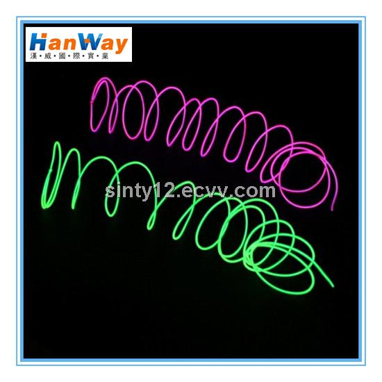 Thin EL Wire Neon Rope Light for wedding purchasing, souring agent ...