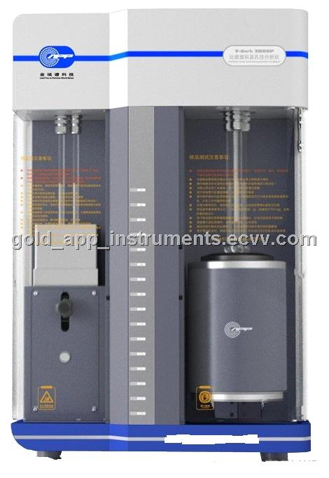 V-Sorb 2800 surface area and pore size distribution analysis instruments