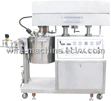cosmetic paste shampoo toothpaste face-care paste  vacuum emulsifying machine