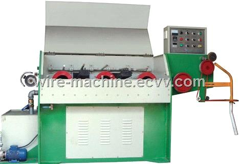 three roller Germany Technology  tin solder wire drawing machine