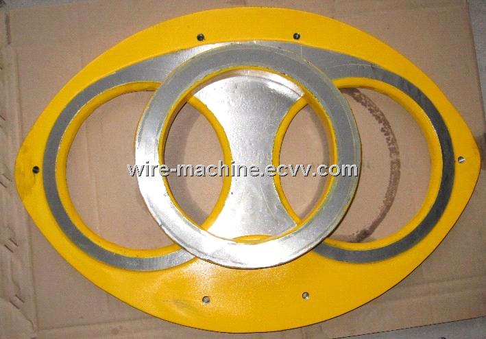 Mitsubishi Concrete Pump Spare Parts Wear Insert and Cutting Ring