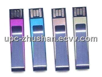 Popular Metal Clip USB Memory Disk