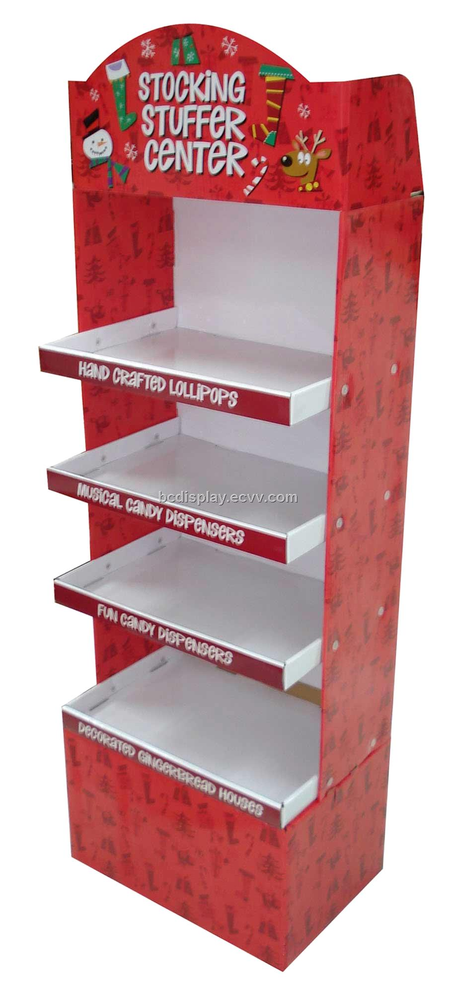 4 Floors Display Stand for Christmas Cards products(B&C-A005)