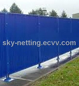 Corrugated Sheet Hoarding Panel Size 2000x2160mm U-profile 50-30-50mm