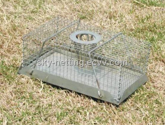 Iron Mouse Trap Cage Electroplating Color Zinc 780g (SGS Certification)