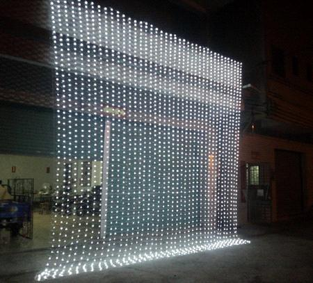 led net light christmas light net light