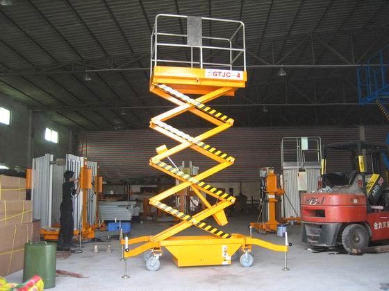 Manual scissor lift GTJY-1 7 from China Manufacturer