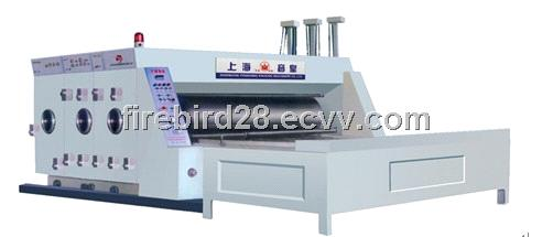 Two Color Flexographic Printing and Slotting Machine.