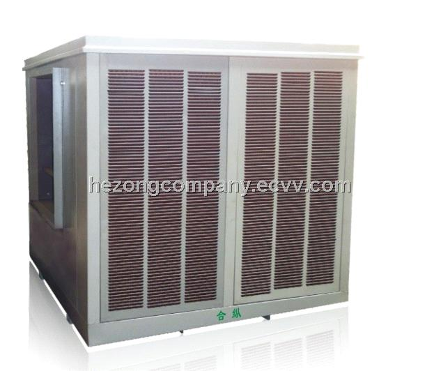 big wind flow Hezong Evaporative Air Cooler/air cooling machine 60000cmh