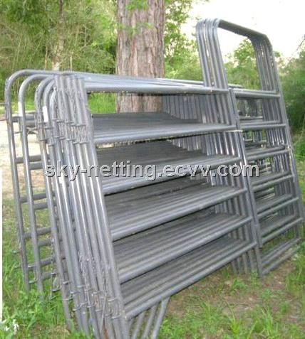 Galvanized Horse Fence / Portable Horse Corral