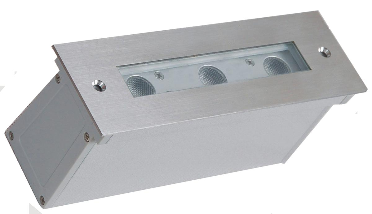 LED Recessed Wall Light, LED Outdoor Wall Lamp, LED Wall Fitting, LED Step Light (820431-H)